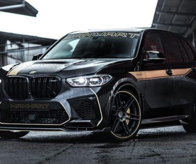 MANHART's MHX5 800 Tune Gives BMW's X5 M Competition a Whopping 823 HP