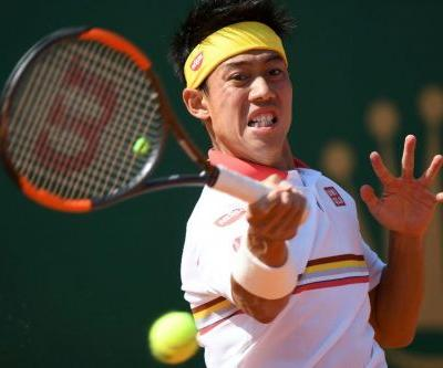 Japan's Nishikori wears down Zverev to set up Nadal final