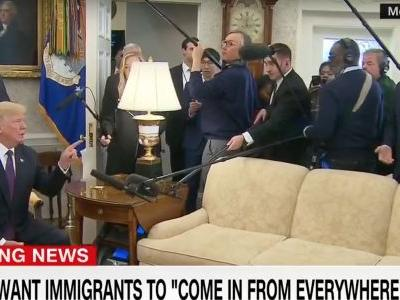 Trump Mocks 'Crazy Jim Acosta' By Misquoting Him: 'Thank You For Your Honesty Jim!'