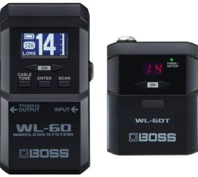 Boss WL-60 wireless pedalboard system for guitarists