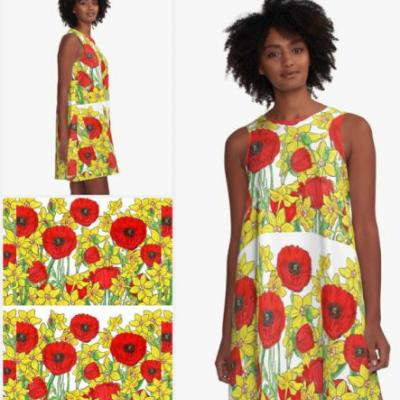 Almost Summer In Australia - Floral Pattern Dresses
