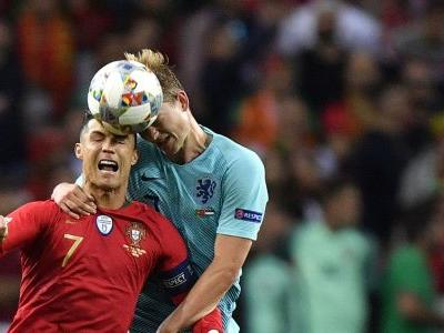 Ronaldo courts Netherlands defender De Ligt for Juventus