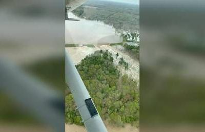 10,000+ residents flee Michigan county after TWO dams fail in a single day, unleashing massive flood