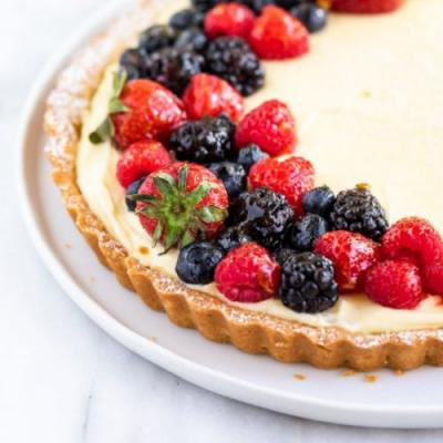 French Lemon Cream Tart