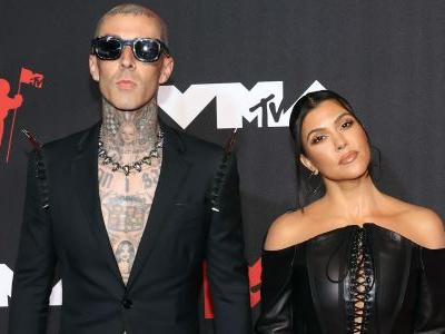 Kourtney Kardashian and Travis Barker Put The 'Punk' In Punk Rock With These Outfits