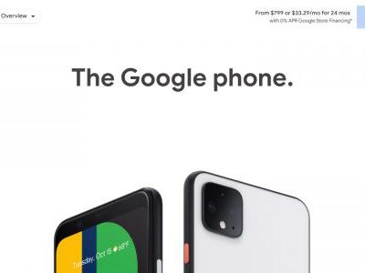 Google discontinues Pixel 4 and Pixel 4 XL after less than a year