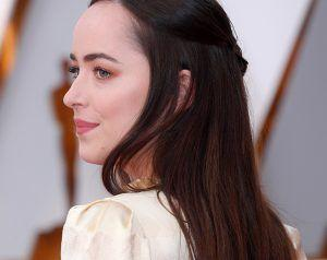 There Was Something Surprising About Dakota Johnson's Oscars Beauty Look