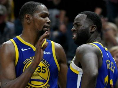 Heated Kevin Durant-Draymond Green exchange 'just team spirit'