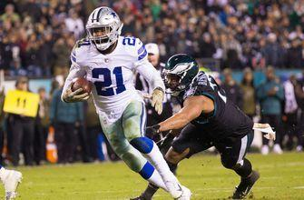 Elliott, Prescott lead Cowboys past Eagles 27-20