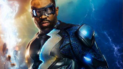 Black Lightning Costume Revealed!