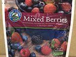 MORE food recalls: Norovirus-infected frozen berries and listeria-infected red peppers