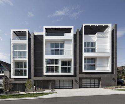 18th & Boulder Townhomes / Meridian 105 Architecture
