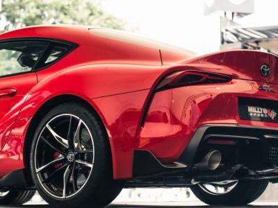 This Aftermarket Exhaust For The A90 Toyota Supra Is A Huge Improvement