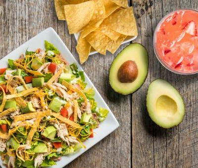 Miguel's Jr. Introduces Fresh Avocado Taco Salad to Everyday Menu with Housemade Strawberry Lemonade Summer Special