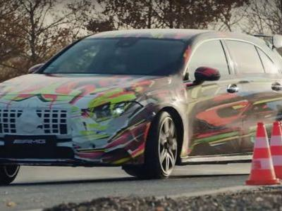 Watch The New Mercedes-AMG A45 Drifting Like Crazy