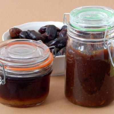 BLW Homemade date paste and syrup