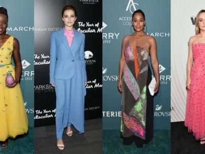 This Week's Best Red Carpet Outfits Featured a Rainbow of Summery Hues