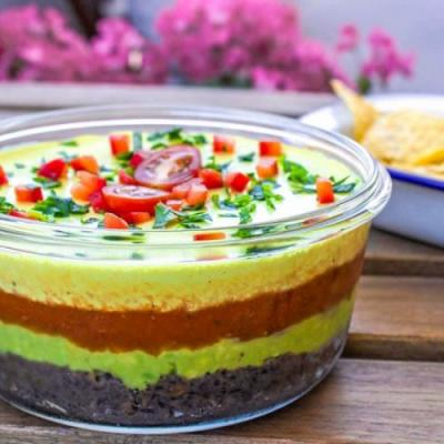 4-Layer Vegan Summer Dip