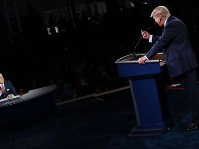 Trump and Don Jr accused Fox host Chris Wallace of left-wing bias after he moderated the debate. Others say he failed to impose any order on the president