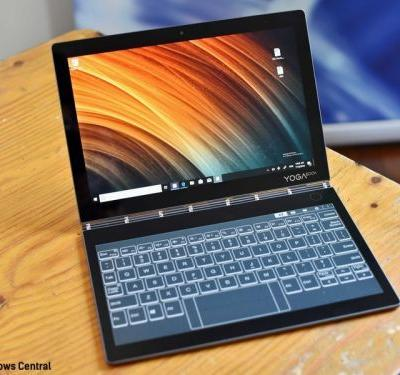 Lenovo's folding Yoga Book C930 features the first E Ink keyboard