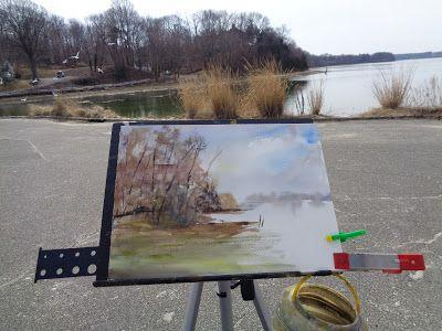 Stony Brook plein air