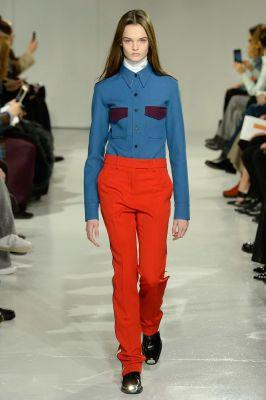 Raf Simons Shows His First Collection For Calvin Klein In New York