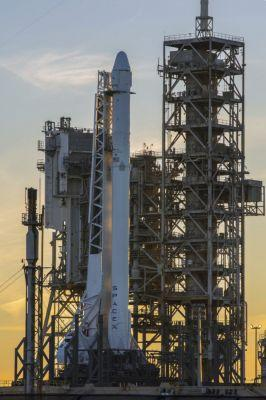 SpaceX go for launching rocket from NASA's historic moon pad