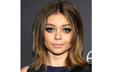Sarah Hyland's Smokeshow at the Golden Globes