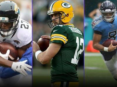 Fantasy Football Injury Updates: Leonard Fournette, Aaron Rodgers, Marcus Mariota among Week 2 QB, RB worries