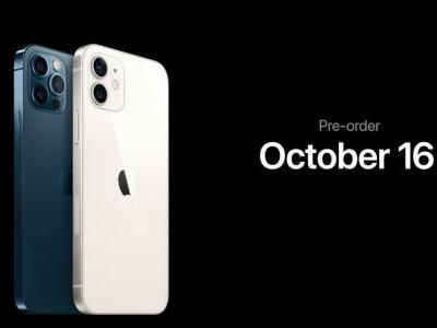 IPhone 12 and iPhone 12 Pro now available to pre-order, first deliveries next week