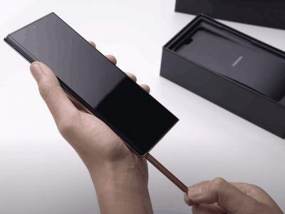 Watch Samsung Unbox The Galaxy Note 20 Ultra