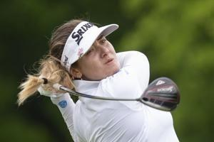 Hannah Green holds her nerve and becomes major champion