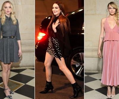 Celebrities flock to the City of Lights to kick off Paris Fashion Week