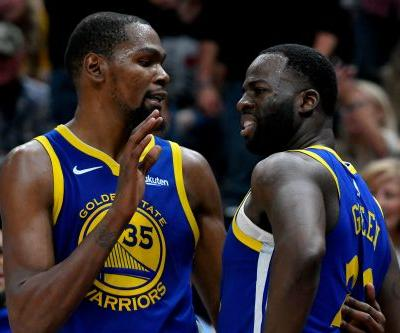 Draymond Green breaks Durant silence and 'ruins everybody's stories'