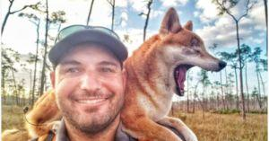 Hiker Carries His Blind Dog 800 Miles Through Florida Wilderness
