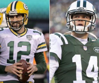 Rodgers lauds Sam Darnold after providing him a lesson