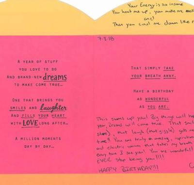 Inside B-Day Card Chris Watts Sent To Nichol: 'Big Things' Will Happen This Year