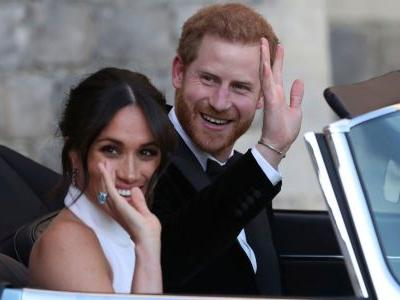 Meghan Markle wore one of Princess Diana's rings to the royal wedding reception and people are here for it