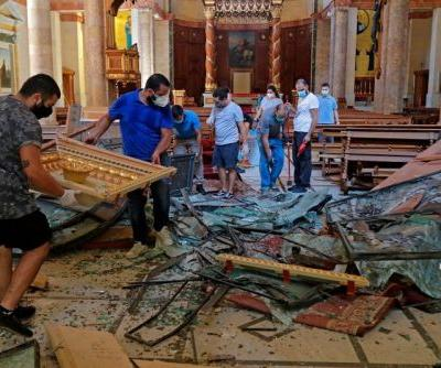 Deadly Explosions in Beirut Leave Art Spaces in Ruins