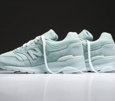 The New Balance 997 Gets a Fresh Minty Makeover