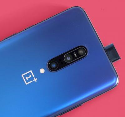 The OnePlus 7T appears in an image with a design that we did not expect