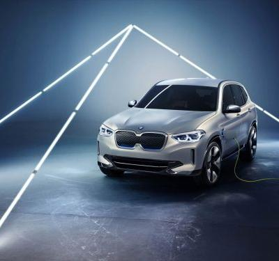 BMW Concept iX3 Previews Production Version Of EV Crossover