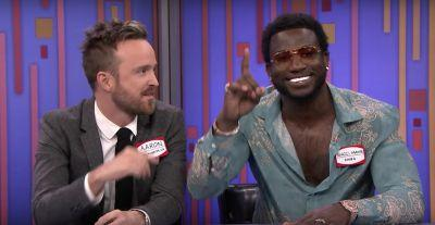 Watch Gucci Mane & 2 Chainz Perform With The Roots, Play Password With Keri Russell & Aaron Paul On Fallon
