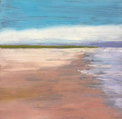 """Contemporary Quiet Landscape, """"Still,"""" by Amy Whitehouse"""