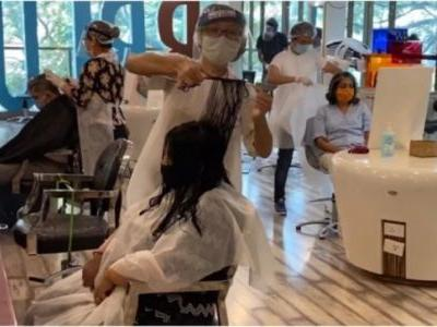 How a salon in Goa is providing grooming services during the coronavirus outbreak