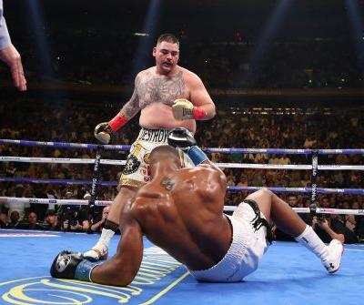 Andy Ruiz Jr. shakes up the world by beating Anthony Joshua, knocking the Briton down 4 times in a heavyweight shocker