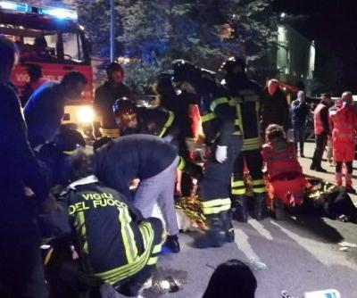 6 dead, dozens hurt in nightclub stampede in Italy