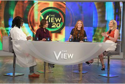 "The Most ""Say What?"" Moments from Lindsay Lohan on The View"