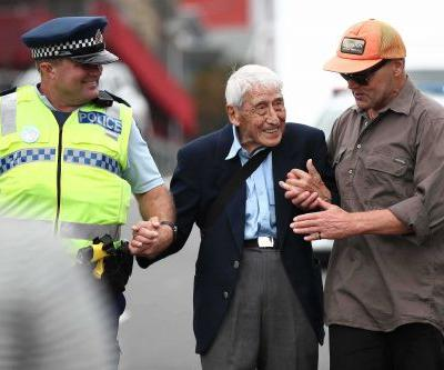 'We care for each other': 95-year-old World War II veteran takes 4 buses to attend anti-racism rally