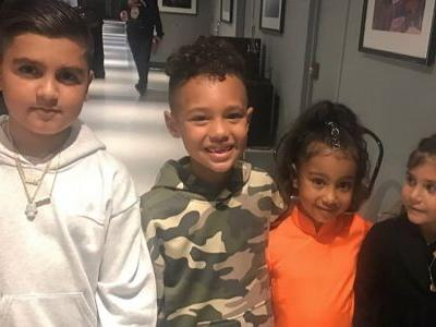 Rapper Consequence's Son Caiden Mills Says He's 'Boo'd Up' With North West